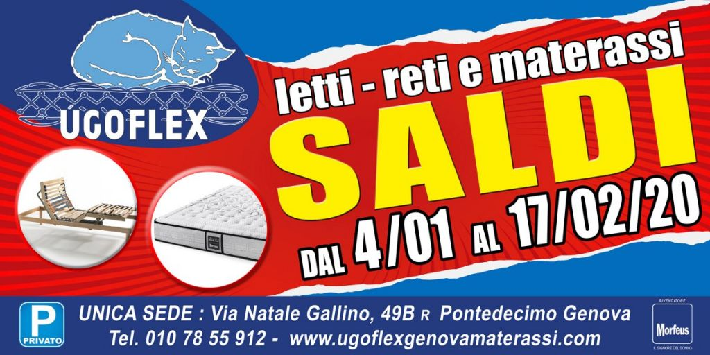 Vendita Materassi A Genova.Ugoflex Materassi Genova Materassi Reti E Divani Letto